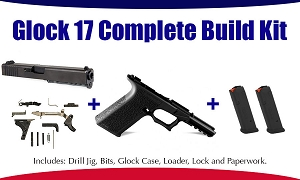 Glock 17 Polymer80 9mm Complete 80% Build Kit